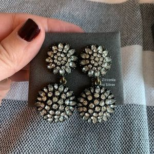 BaubleBar crystal statement earrings